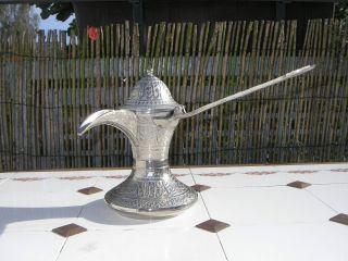 Orientalische Kakaokanne Teekanne Aus Dubai Bild