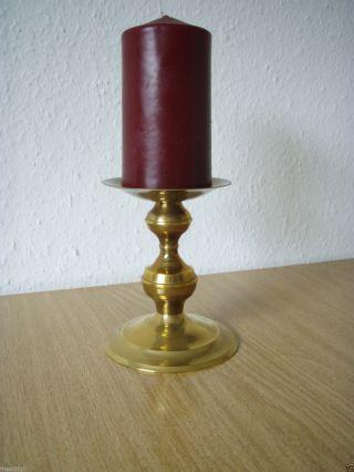 Stilvoller Messing Kerzenhalter Kerzenständer Größe Ca.  11,  5 Cm Bild