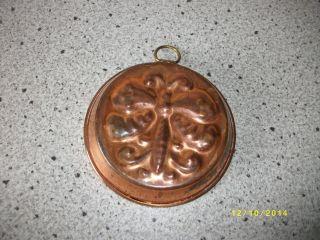 Alte Backform Aus Kupfer Schweden Dekoration 34 Bild