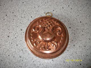 Alte Backform Aus Kupfer Schweden Dekoration 40 Bild