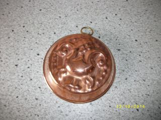 Alte Backform Aus Kupfer Schweden Dekoration 44 Bild