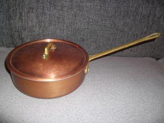 Kupferpfanne,  Kupfertopf Mit Deckel Top Bild