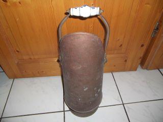 Kupfer Kohlenschütte - Schirmständer Bild