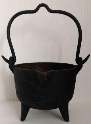 Antiker Hexenkessel,  Dreibeinkessel,  Um 1900 Bild