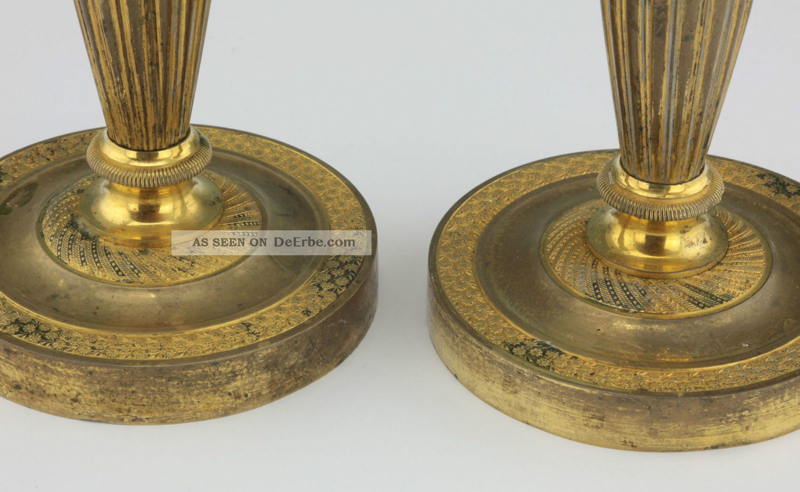 Neogotischer kerzenleuchter furthof antiquitäten am bodensee