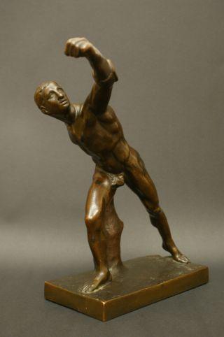 Bronzefigur ' Borghesischer Fechter ' Bild