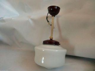 Alte Stablampe Jugendstil Glasleuchte Bakelitlampe Art Deco Loft Design Um 1920 Bild