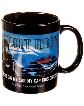 Offiziell Knight Rider Chicks Dig My Car Becher Bild