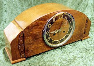 Ddr,  Mechanisch,  Uhr,  Buffetuhr,  Alte Uhr,  Kaminuhr,  Tischuhr,  Schrankuhr Bild