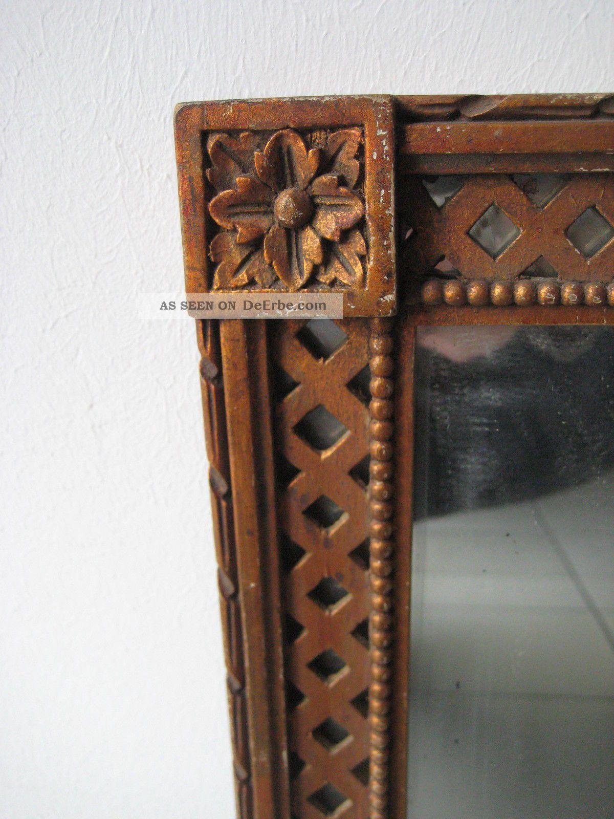 klassizismus spiegel rahmen um 1760 holz geschnitzt goethe schiller weimar. Black Bedroom Furniture Sets. Home Design Ideas