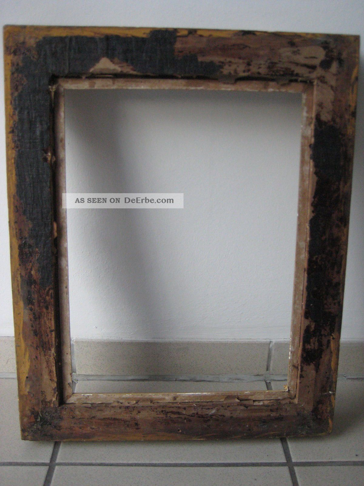 Rokoko Gemälde - Rahmen 19. Jh. Holz, Stuckmasseverziert, Orig ...