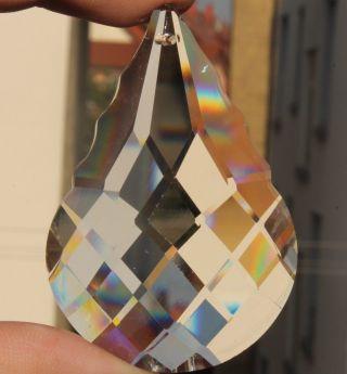 30 Seltene Große Pariser Jugendstil Pendeln Blei Kristalle Lüster Kronleuchter Bild