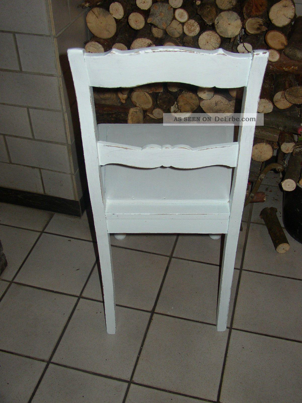 antiker stuhl biedermeier um 1900 shabby chic vintage. Black Bedroom Furniture Sets. Home Design Ideas