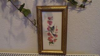Alter Bilderrahmen - Jugendstil - Barock - Holz - Mit Glas - Goldrahmen Bild
