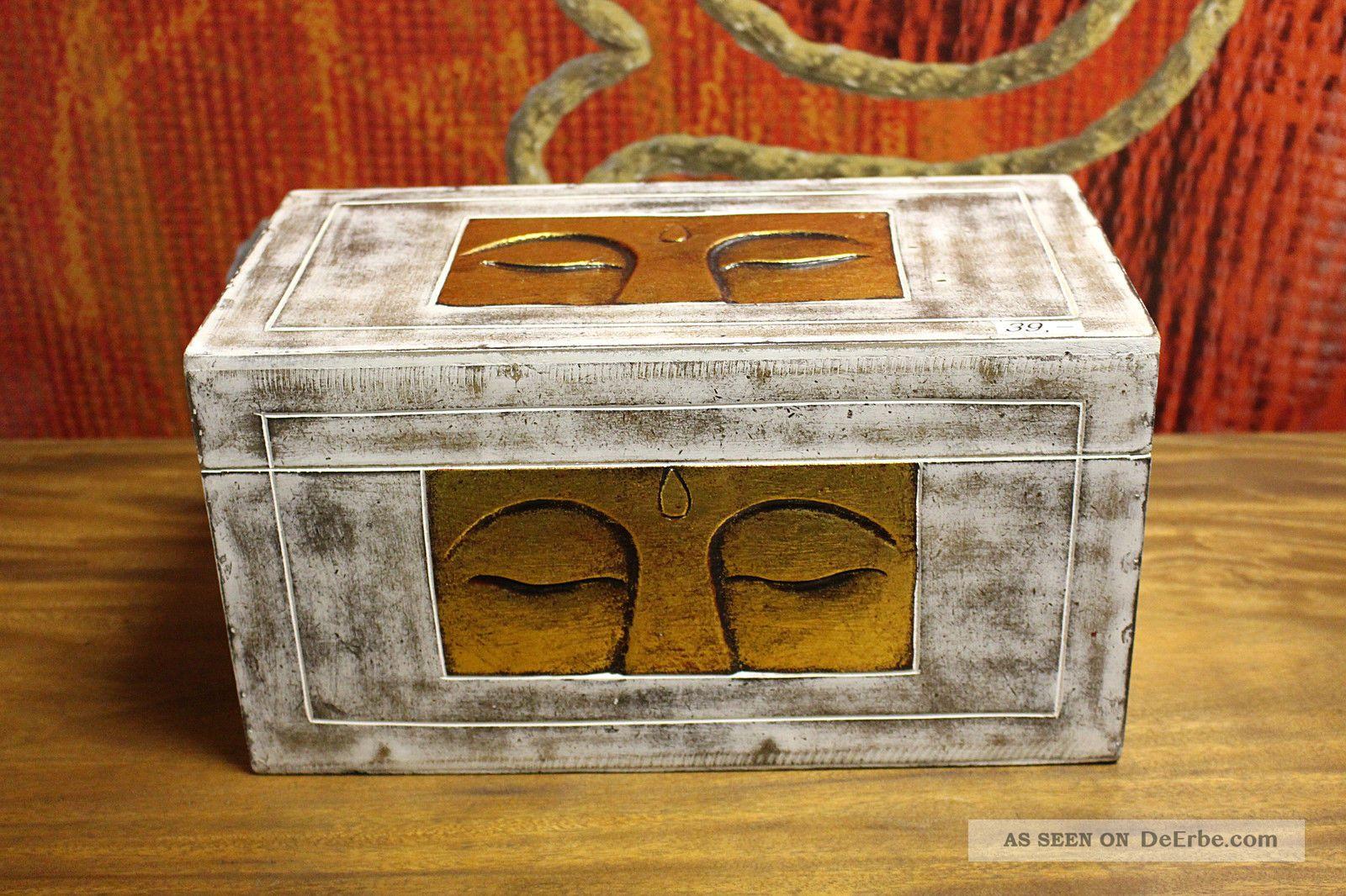 truhe schatztruhe buddha wei gold massiv kiste box. Black Bedroom Furniture Sets. Home Design Ideas