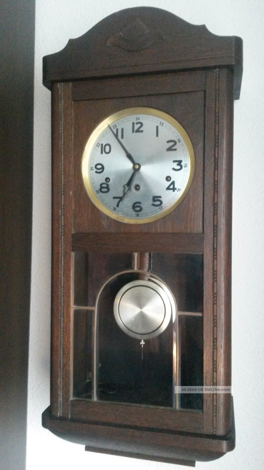 antiker regulator westminster top 8 klangst be antike wanduhr uhr. Black Bedroom Furniture Sets. Home Design Ideas