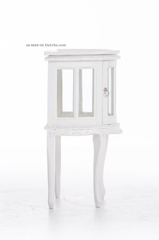 Wohnzimmer vitrine wei