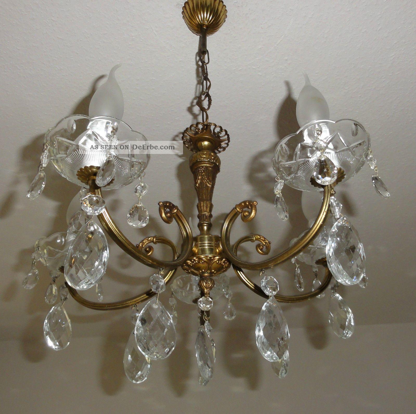 kronleuchter l sterbehang messing lampe l ster france antik shabby landhaus. Black Bedroom Furniture Sets. Home Design Ideas