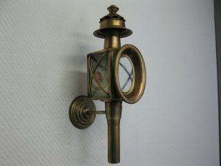 Messing Kutscherlampe 43cm Laterne Stalllampe Stalllaterne Petroleumlampe Bild