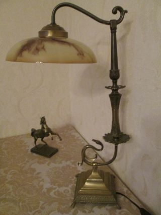 Schöne,  Große Schlangen - Jugendstil - Tischlampe Aus Privater Sammlung Bild