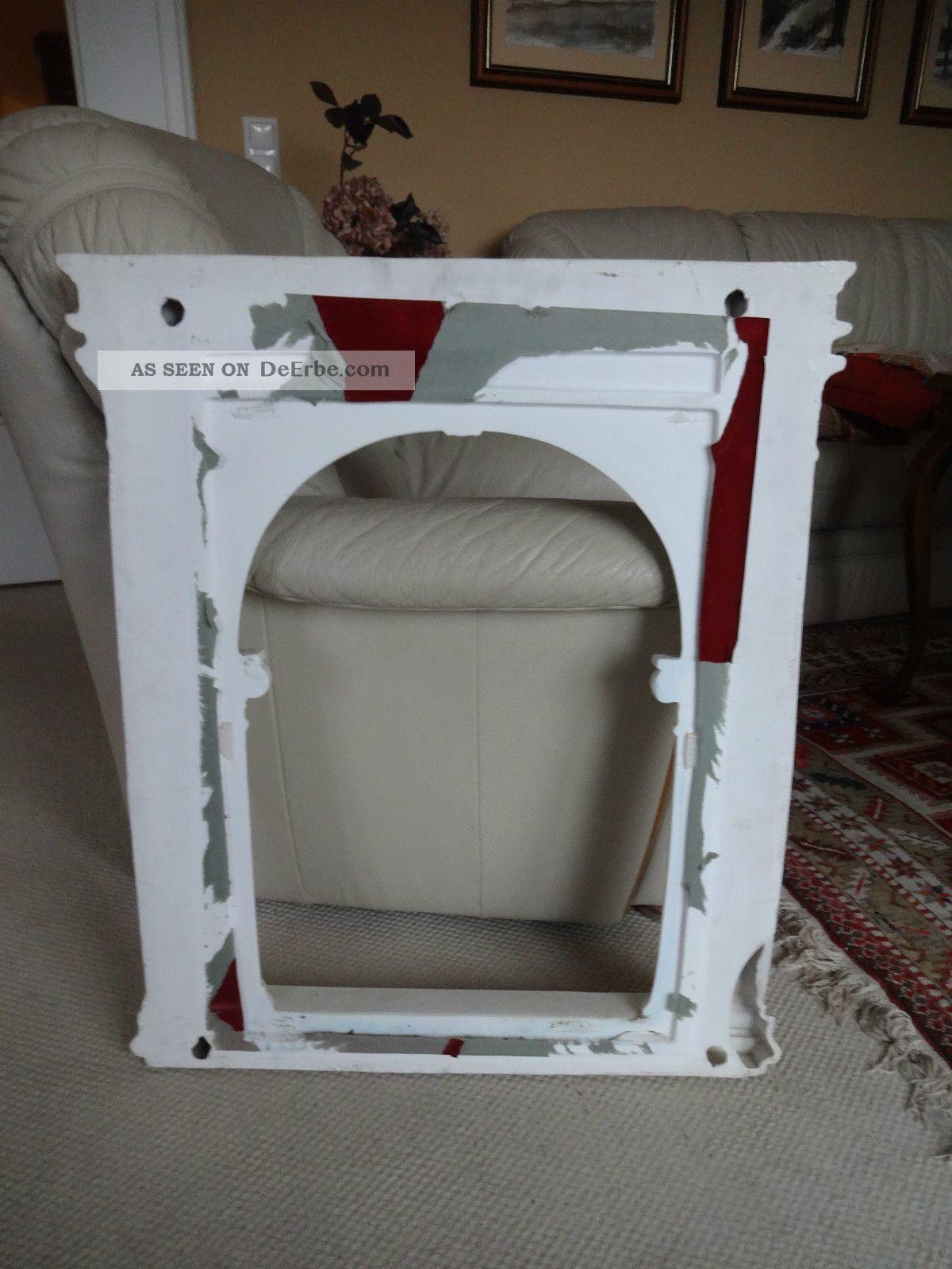 wandspiegel rechteckig weiss flurspiegel spiegel barock antik repro shabby. Black Bedroom Furniture Sets. Home Design Ideas