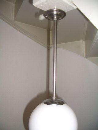 Kleine Art Deco / Bauhaus Glaskugellampe Deckenlampe Hängelampe Bild