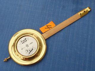 Nr.  6 Pendel 32 Cm Ø 80 Mm Selva - Uhrenpendel Wanduhr Freischwinger Ra Bild