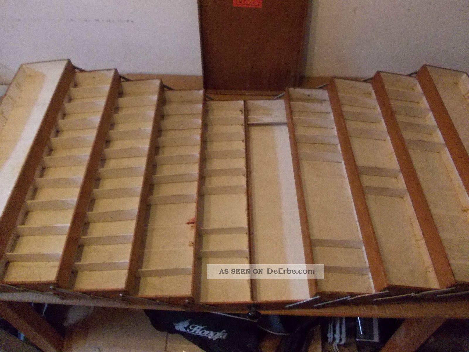 alte schuster sattler holz kiste koffer werkzeug koffer. Black Bedroom Furniture Sets. Home Design Ideas