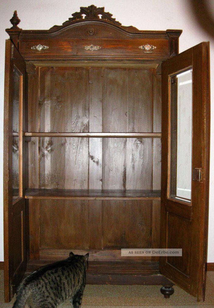 schrank antik ca 1860 aus dem hessischen. Black Bedroom Furniture Sets. Home Design Ideas