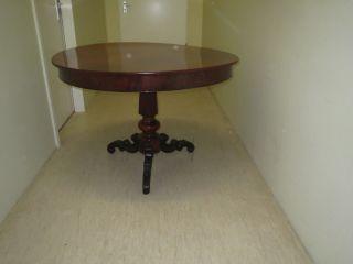 Tisch,  Sessel Antik Bild