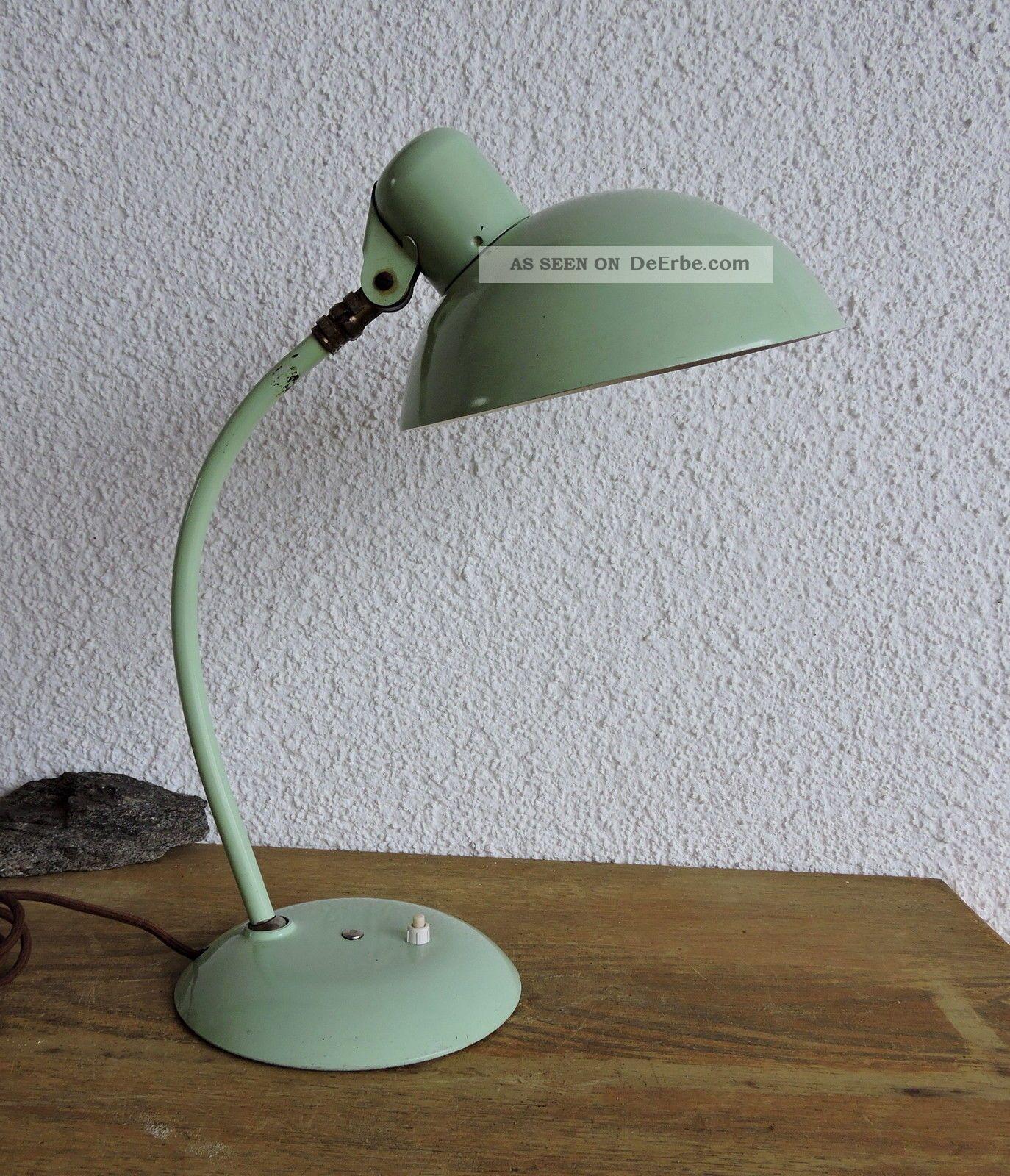bauhaus lampe schreibtischlampe tischlampe marke sis leuchten 50iger. Black Bedroom Furniture Sets. Home Design Ideas
