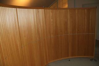 Paravent/raumteiler Labyrint Pelikan Design 2.  - Teilig,  Massivholz - Fritz Hansen Bild