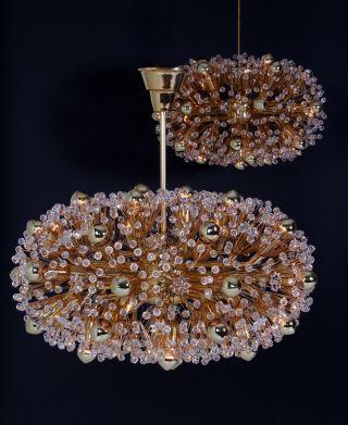 Gr.  Emil Stejnar F Nikoll Pusteblume Lamp 70s Blowball Chandelier Lampe Lustre Bild