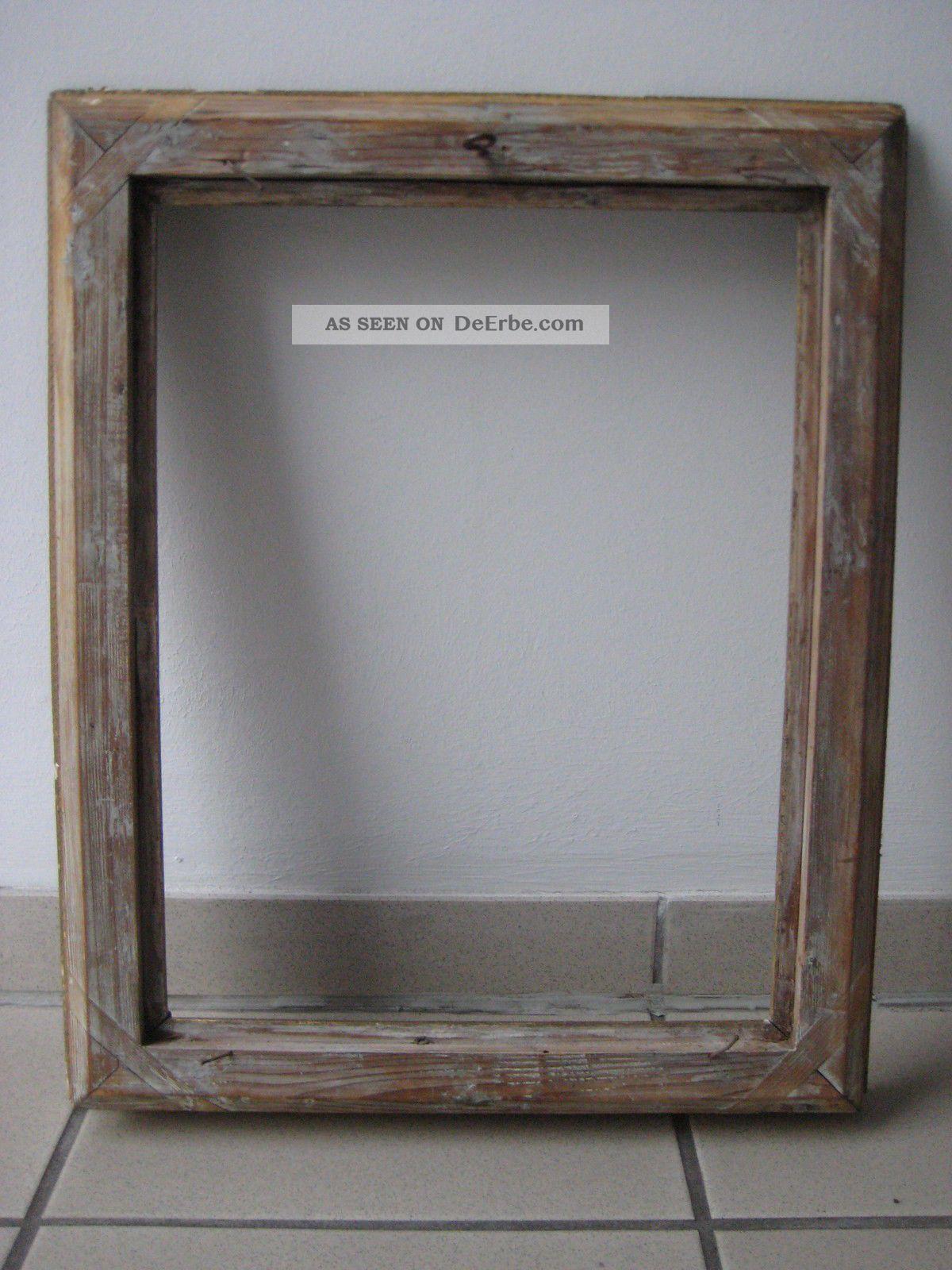 Rokoko Gemälde - Rahmen 19. Jh. Gratleisten, Holz ...