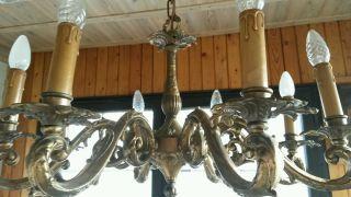 mobiliar interieur lampen leuchten antike originale vor 1945 l ster kronleuchter. Black Bedroom Furniture Sets. Home Design Ideas