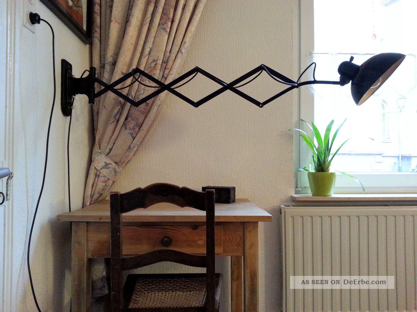 kaiser idell scherenlampe schreibtisch lampe loft leuchte art deco bauhaus. Black Bedroom Furniture Sets. Home Design Ideas