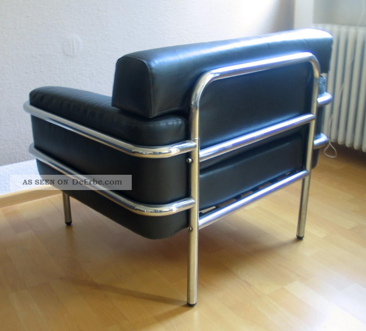 2 vintage sessel 60er art deco bauhaus stahlrohr chrom. Black Bedroom Furniture Sets. Home Design Ideas