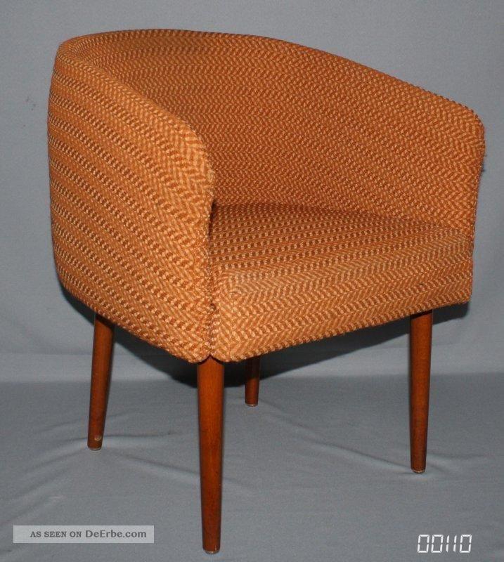 1 ddr polstersessel clubsessel cocktailsessel lounge sessel 70er gold braun kult. Black Bedroom Furniture Sets. Home Design Ideas