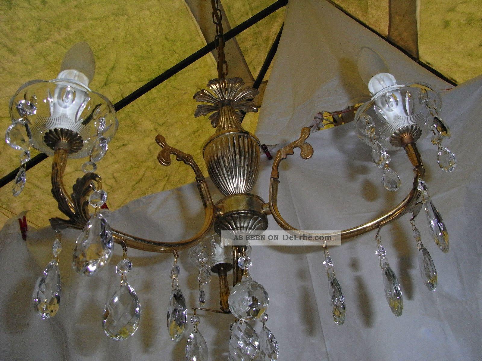 Plafoniere Per Van : Deckenlampe leuchter: kronleuchter messing bronze