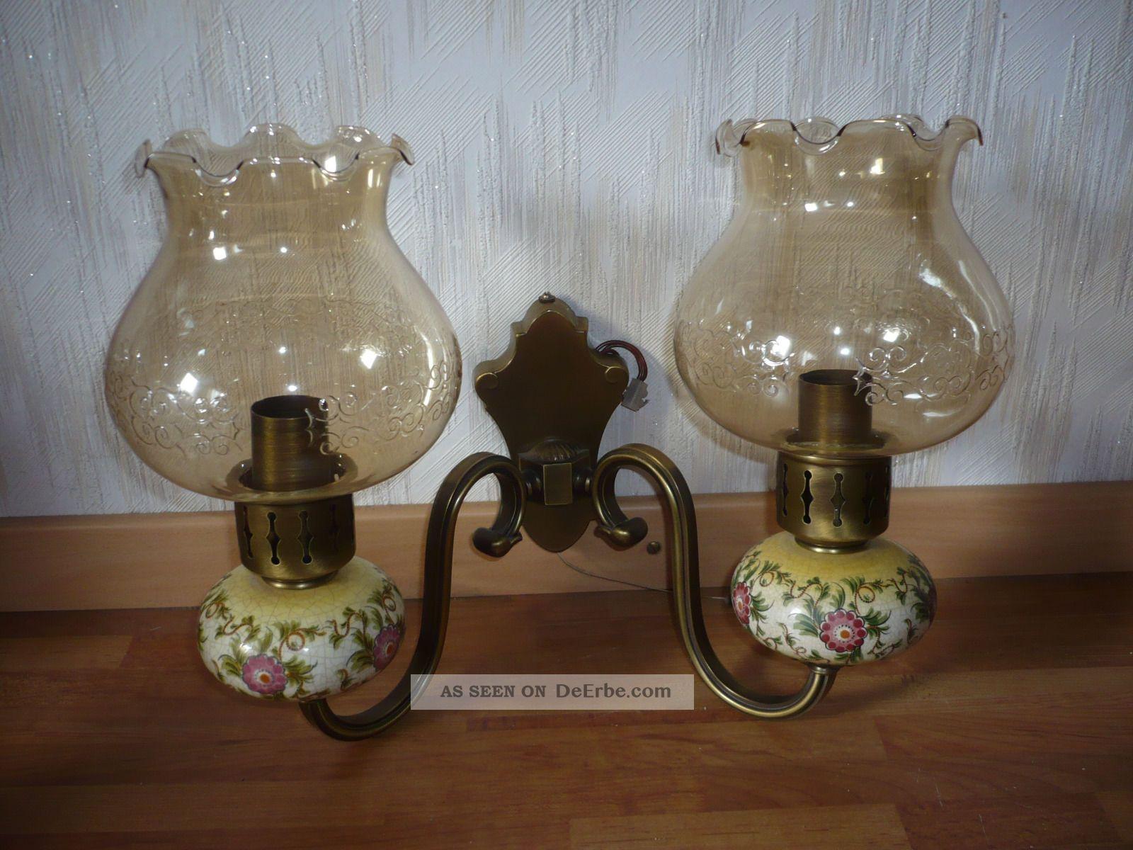wandlampe kaiser wandleuchte lampe landhaus 40 er. Black Bedroom Furniture Sets. Home Design Ideas