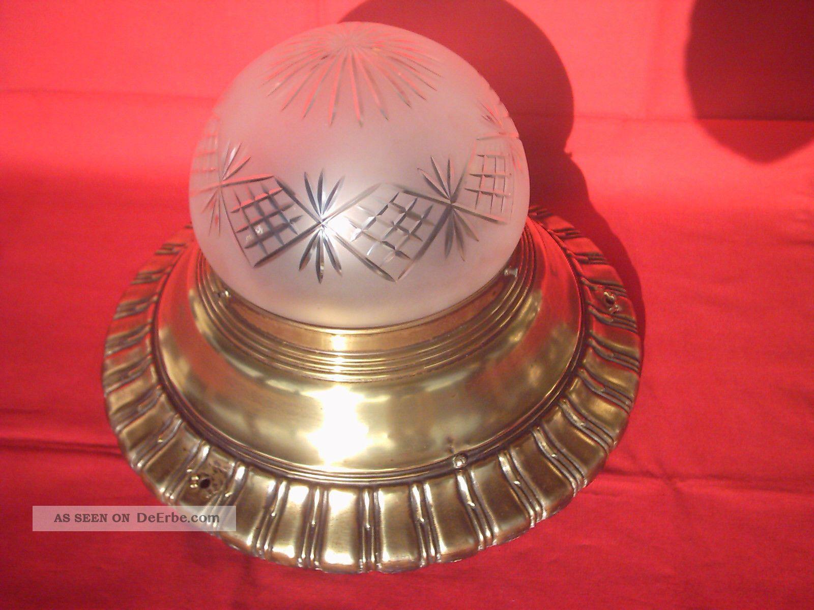 Deckenlampe Jugendstil Plafoniere : Prunkvolle große originale jugendstillampe plafoniere lampe
