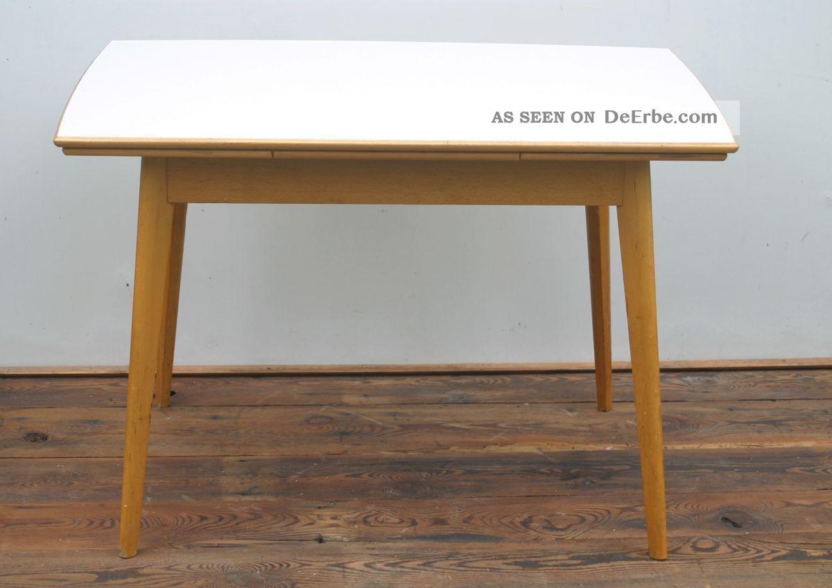 70er design auszehtisch esstisch tisch mit resopalplatte