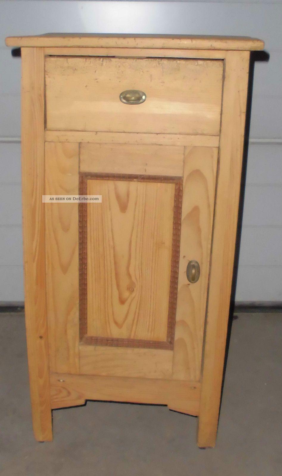 jugendstil nachttisch alt antik massiv nacht tisch. Black Bedroom Furniture Sets. Home Design Ideas