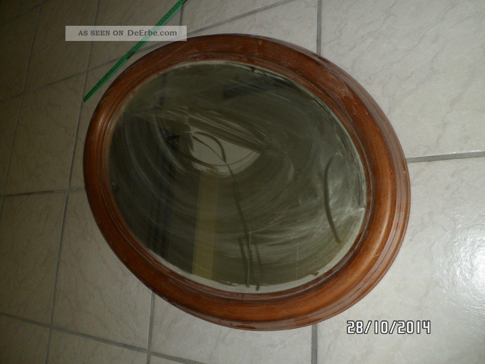 alte oval wandspiegel spiegel holz rahmen. Black Bedroom Furniture Sets. Home Design Ideas