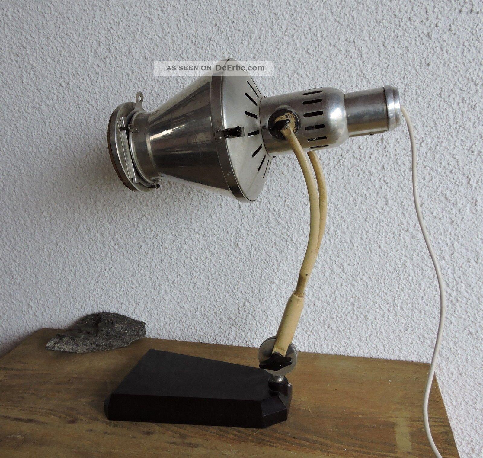 Art Deco Bauhaus Sollux Hanau Lampe W Rmelampe Arztlampe