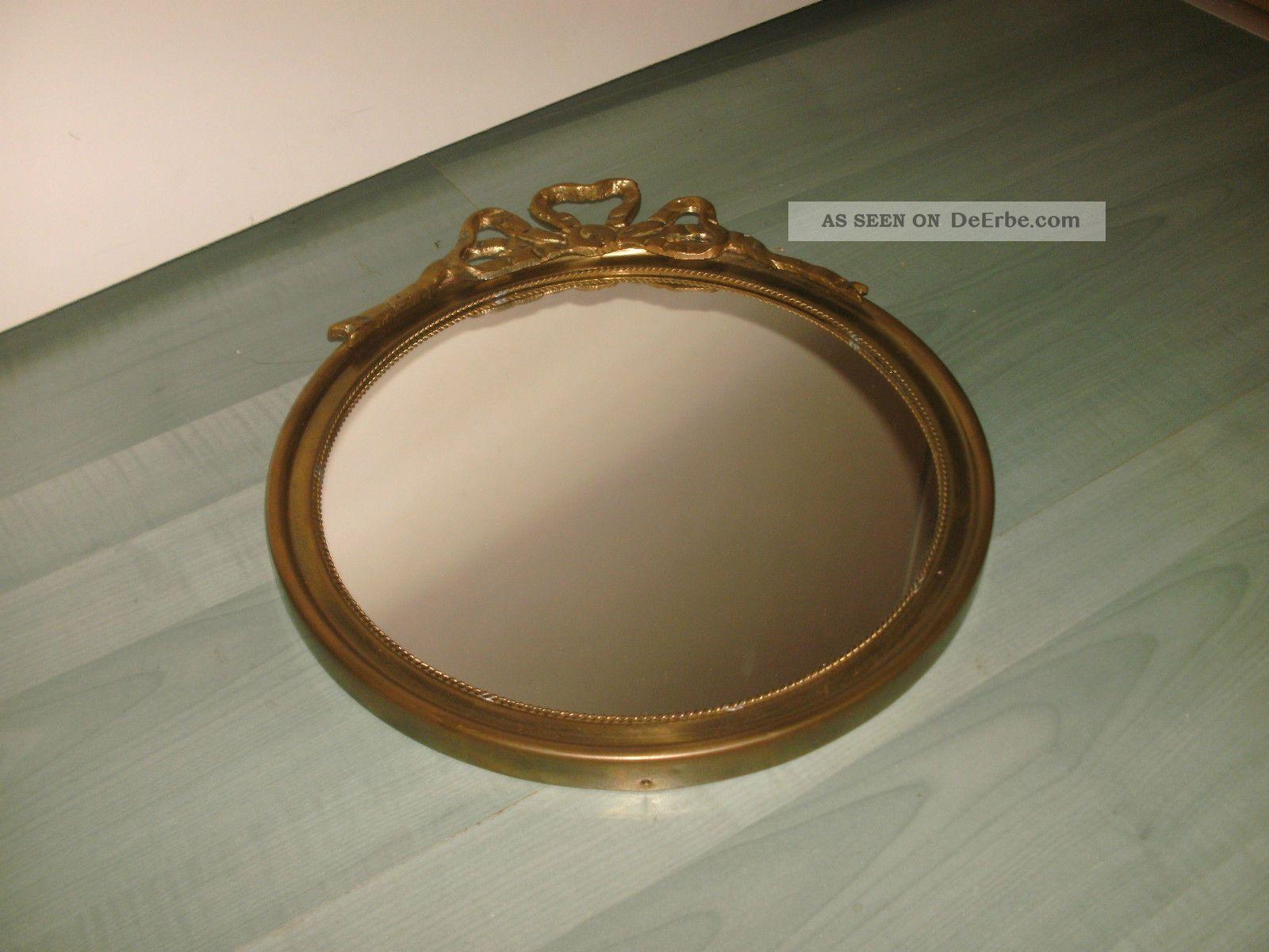 spiegel aus messing messingspiegel im biedermeierstil. Black Bedroom Furniture Sets. Home Design Ideas