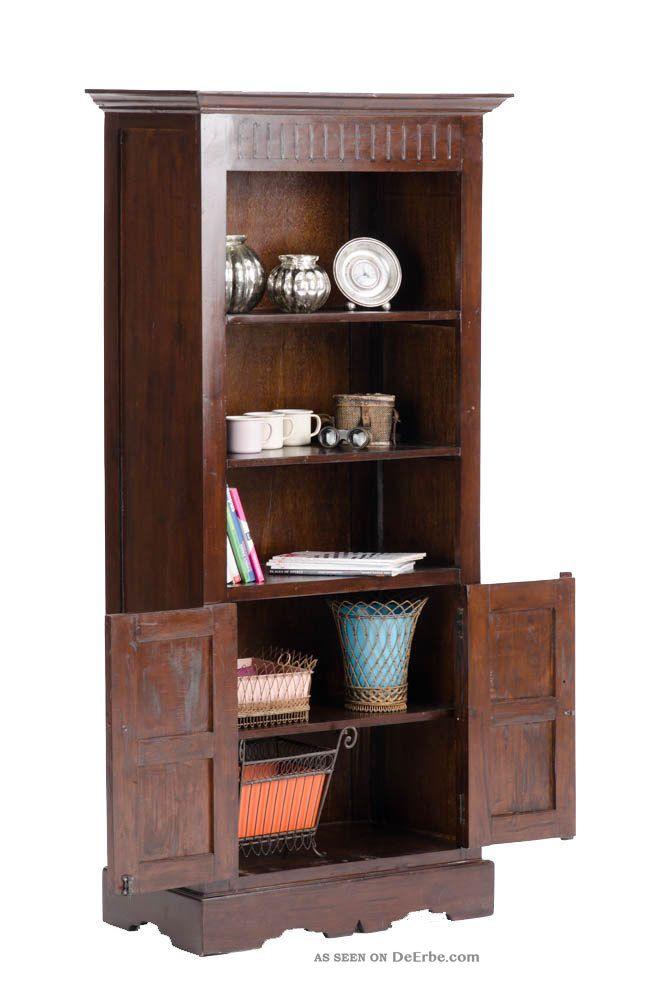 b cherschrank james dunkelbraun wandschrank massives. Black Bedroom Furniture Sets. Home Design Ideas