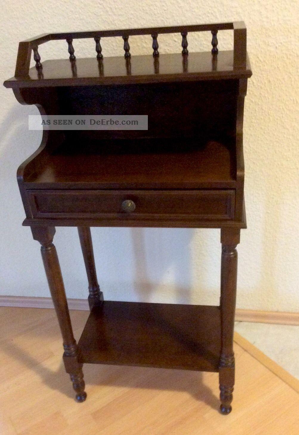 dekorativer kleiner sekret r telefontisch stehpult. Black Bedroom Furniture Sets. Home Design Ideas
