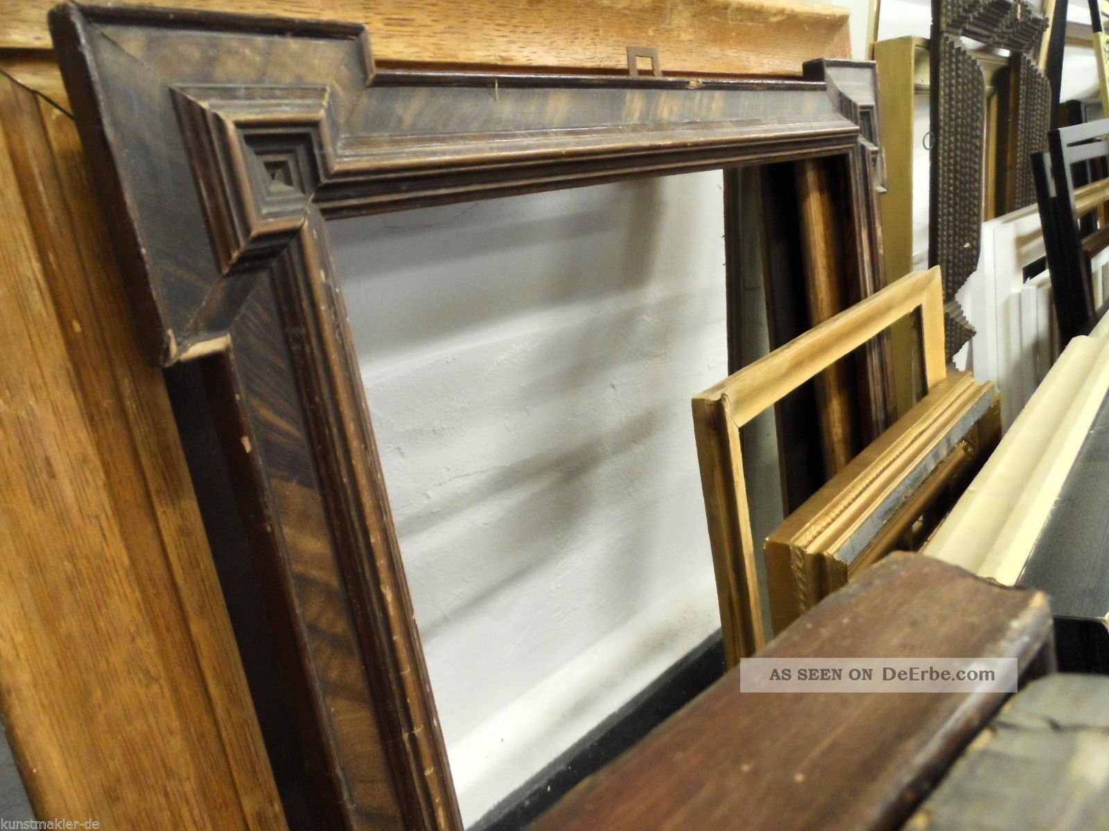 60 antike alte gebrauchte holz bilderrahmen 18x26 75x125cm an abholer. Black Bedroom Furniture Sets. Home Design Ideas