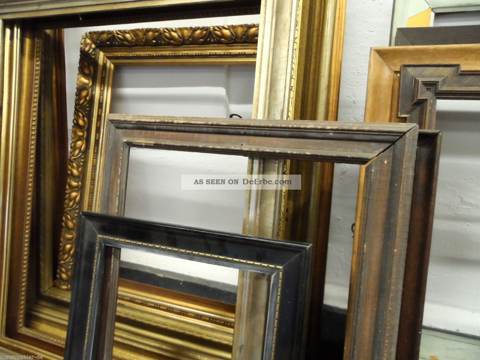 60 antike alte gebrauchte holz bilderrahmen 18x26. Black Bedroom Furniture Sets. Home Design Ideas